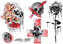 Gnuggisar designade av tatuerare