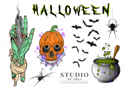 Halloween-Faketattoos-Likeink